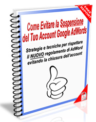 Evitare Sospensione Account Google AdWords
